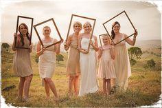 cute picture frame idea...