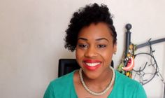 #3. Natural short hairstyles for black women