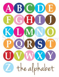 Scripture for every letter of the alphabet - printables to use for framing, or to make an 'ABC Scripture Book' for kids