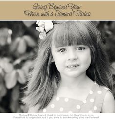Photography Tips for Moms and Dads with a Camera via iHeartFaces.com