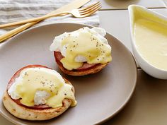 Hollandaise Sauce and Eggs Benedict