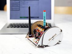 Mirobot is a DIY WiFi robot designed to help children learn about technology and programming.