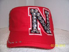 Nebraska huskers on pinterest alphabet photography for Red hat bling jewelry