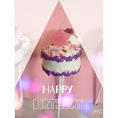 Birthday Cake Cake-pop