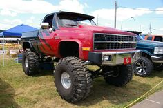 Chevy 4X4 Pickup Truck