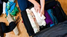 Pack your suitcase as efficiently as a flight attendant...also see the slide show towards the bottom for how to pack 10 days worth of clothes in a standard carry on