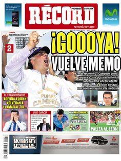 México 19 de agosto del 2014 - RÉCORD