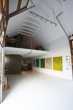 high ceilings, loft