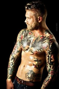 Body Art... Do I mean the tattoos OR the body... Not quite sure yet. ;P