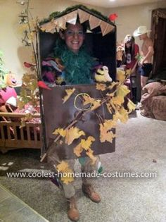 Bird House Recycle Costume