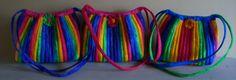Rainbow Hobo Bags