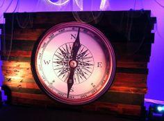 Huge faux compass!