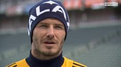 David Beckham not ruling out England move as he prepares for last game with LA Galaxy
