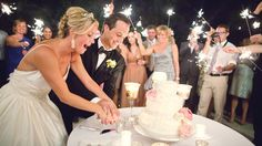 sparkler light, someday, cake cutting, cakes, weddings, worst thing, wedding guests, sparkler idea, sparklers