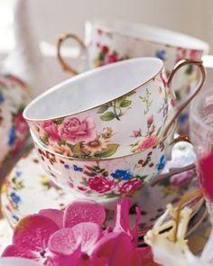 Tea set. Beautiful