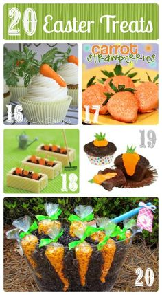 holiday, cutest easter, craft, food, 20 cutest, carrots, treat bunni, easter treats, bunni carrot