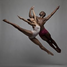 Rachel Holmes and Prentice Whitlow. Photo by Volkmann, courtesy Elisa Monte Dance
