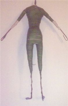 Air Dry Clay Tutorials: Creating a Body Armature for Art Doll