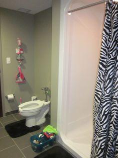 Pink Zebra Bathroom My Style Pinterest