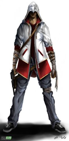 Modern day assassin.