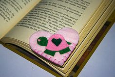Turtle Heart Bookmarks