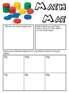 Math Mats are what I use for my Friday review in math.  I copy the two pages side by side on a sheet of 11 x 17 paper.  Each week, I use a differen...