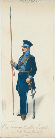 russe cosack 1814