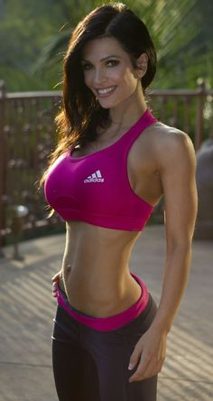 Denise Milani. If that's not motivation I don't know what is. I want that body
