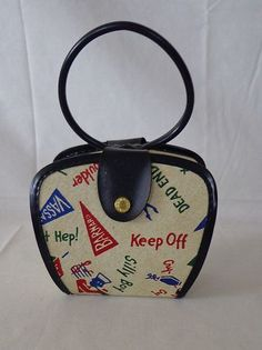 Vintage 1950's Child's Purse Made in USA