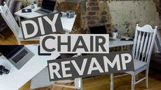 Easy DIY Chair Revam