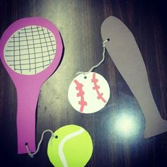 Sports are a fun way to past the summer days. Look @ our athletic  gear to keep us in shape here @ Alamitos library!