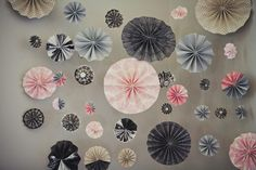backdrops, wedding decorations, fans, scrapbook paper, wedding colors, papers, pinwheel, event photography, paper decorations