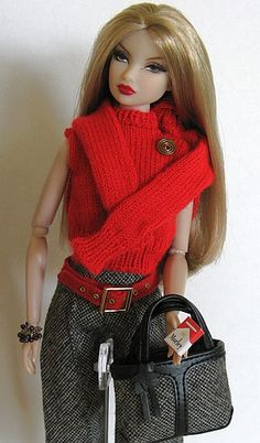 love the fashion and doll