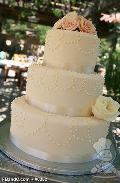 cake idea, wedding cakes, fresh flower