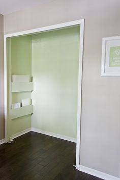 closet pocket shelves - office