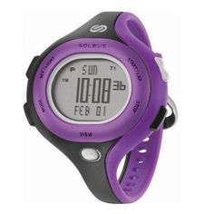 Sanity is Slow. Run Wild. Soleus Chicked Watch. $55 #Soleus #Running #Watch #Purple