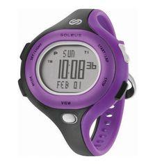 Sanity is Slow. Run Wild. Soleus Chicked Watch. $55 #Soleus #Running #Watch #Purple
