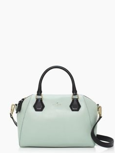 kate spade catherine street pippa bag in dusty mint, $278.00: I think I'm in love. <3