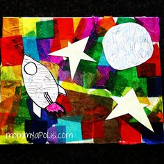 modge podge craft w/ kids in mind
