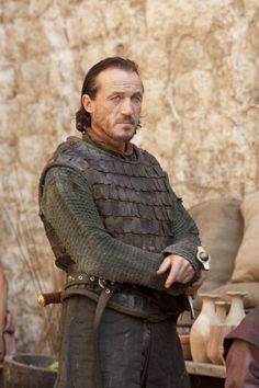 Jerome Flynn - Bronn in Game of Thrones :) Almost all of the cast - no matter the size of the role - are superb actors.