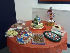 Eagle Scout COH dessert table