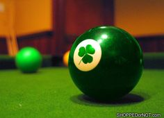 clover billiards ball