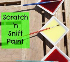 Scratch 'n Sniff Paint