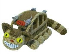 Amigurumi To Go!: Totoro Cat Bus Free Crochet Pattern With Video Tutorial
