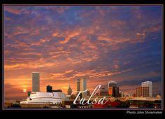 The Tulsa Skyline <3