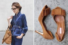 fashion, camel, style, outfit, bows, wear, shoe, blues, bags