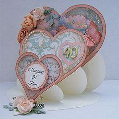 Triple Heart Card