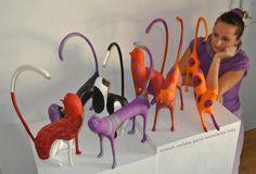 Secretee: Carlotta Parisi: paper mache artist tenace e passionale