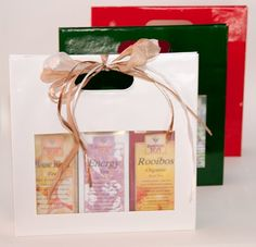 Forsman Gift Bag - Great gift idea for special Tea lover in your life!  www.dreamteaboutique.ca/tea-gift-sets.html
