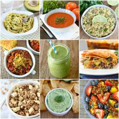 75 Healthy Recipes on www.twopeasandthe... #recipe #healthy